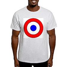 French Aircraft Insignia Le S Ash Grey T-Shirt