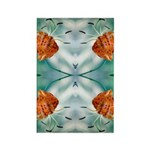 Tigerlily Reflection Rectangle Magnet