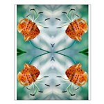 Tigerlily Reflection Small Poster