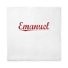 Emanuel, Vintage Red Queen Duvet