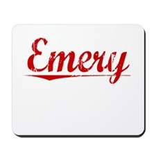 Emery, Vintage Red Mousepad