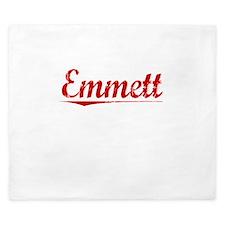 Emmett, Vintage Red King Duvet