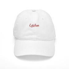 Esteban, Vintage Red Baseball Cap