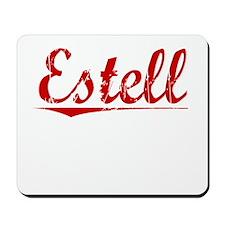 Estell, Vintage Red Mousepad