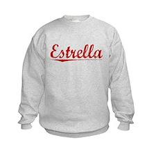 Estrella, Vintage Red Sweatshirt