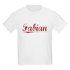 Fabian, Vintage Red T-Shirt