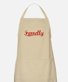 Farrelly, Vintage Red Apron
