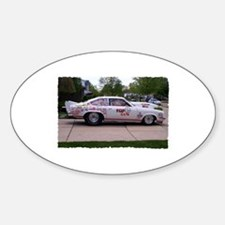 TOP GUNS AUTO Oval Decal