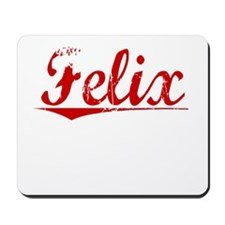 Felix, Vintage Red Mousepad