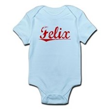 Felix, Vintage Red Infant Bodysuit