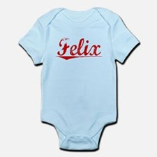 Felix, Vintage Red Infant Bodysuit