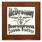 McDreamy Framed Tile