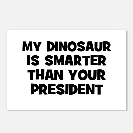 My Dinosaur Is Smarter Than Y Postcards (Package o