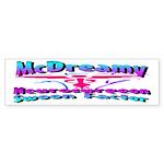 McDreamy Bumper Sticker