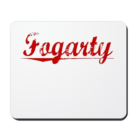 Fogarty, Vintage Red Mousepad