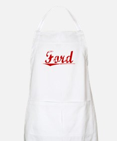 Ford, Vintage Red Apron