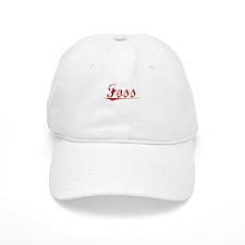 Foss, Vintage Red Baseball Cap