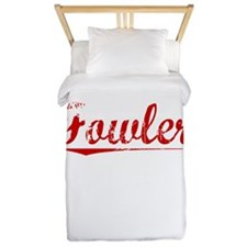 Fowler, Vintage Red Twin Duvet