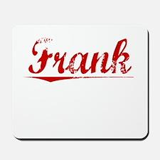 Frank, Vintage Red Mousepad