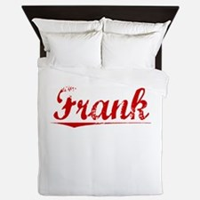 Frank, Vintage Red Queen Duvet