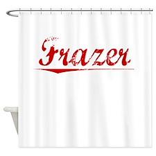 Frazer, Vintage Red Shower Curtain