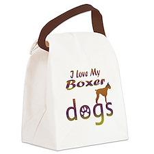 Boxer designs Canvas Lunch Bag