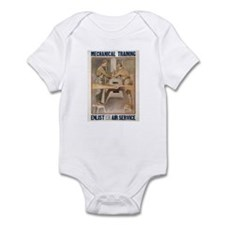 Air Service WWI Poster Infant Creeper