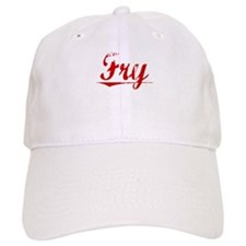 Fry, Vintage Red Baseball Cap