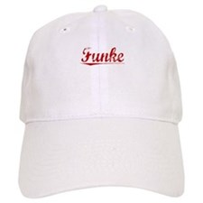 Funke, Vintage Red Baseball Cap