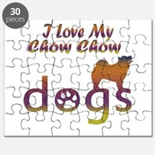 Chow Chow designs Puzzle