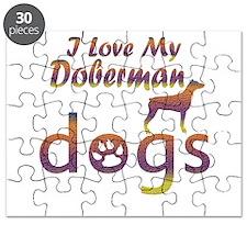 Doberman designs Puzzle