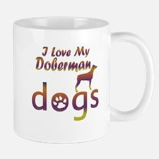 Doberman designs Mug