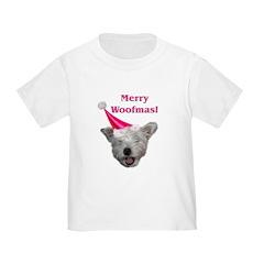 Christmas Dog Toddler T-Shirt