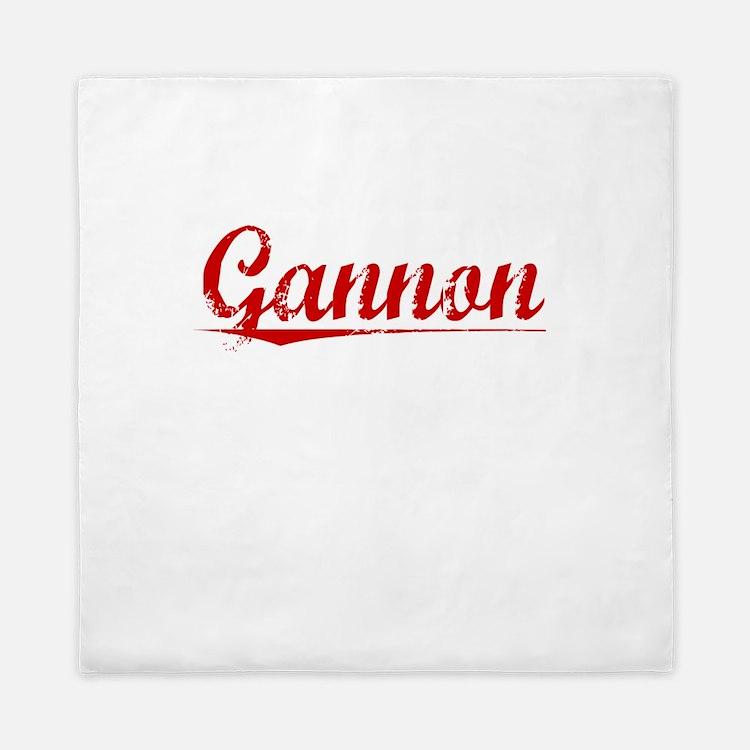 Gannon, Vintage Red Queen Duvet