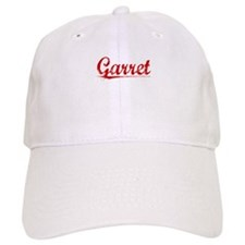 Garret, Vintage Red Baseball Cap