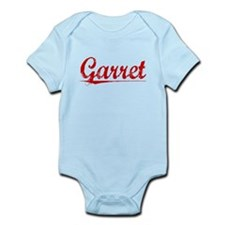 Garret, Vintage Red Infant Bodysuit
