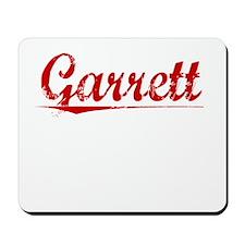 Garrett, Vintage Red Mousepad