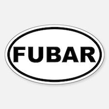 FUBAR Oval Decal