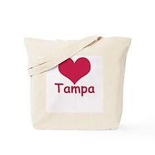 Heart Tampa Tote Bag