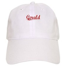 Gerald, Vintage Red Baseball Cap