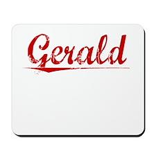 Gerald, Vintage Red Mousepad