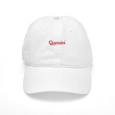 Giannini, Vintage Red Baseball Cap
