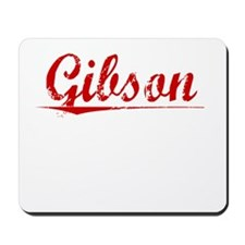 Gibson, Vintage Red Mousepad