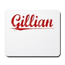 Gillian, Vintage Red Mousepad