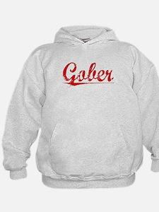 Gober, Vintage Red Hoodie