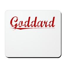 Goddard, Vintage Red Mousepad