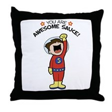 Awesome Sauce Throw Pillow