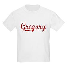 Gregory, Vintage Red T-Shirt