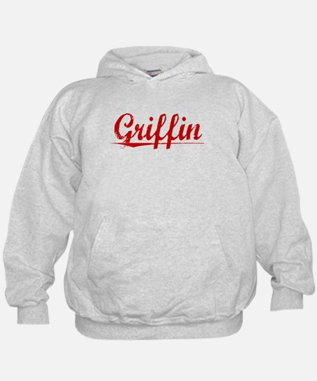 Griffin, Vintage Red Hoody