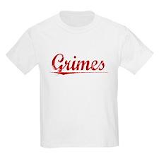 Grimes, Vintage Red T-Shirt